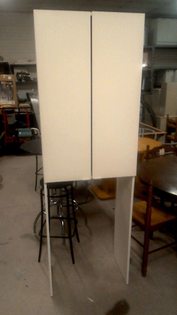 meuble sdb 2 portes sur machine a laver d 39 occasion. Black Bedroom Furniture Sets. Home Design Ideas