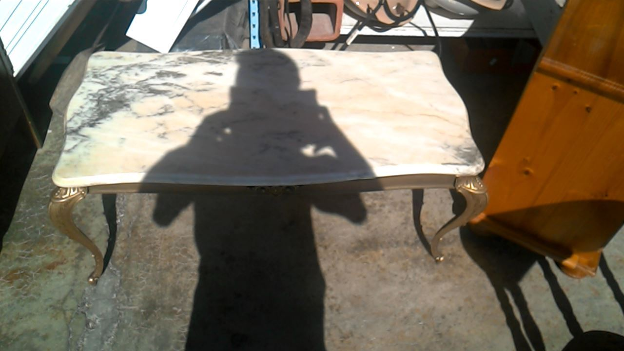 table basse dessus marbre d 39 occasion. Black Bedroom Furniture Sets. Home Design Ideas