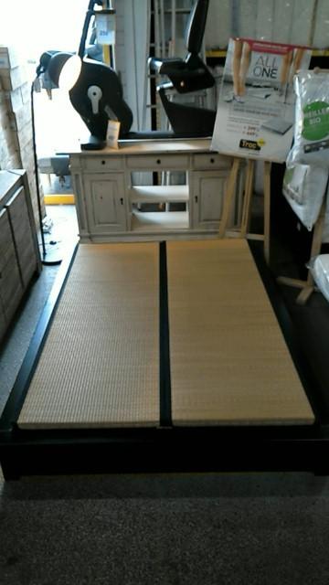 lit futon tatami tiroir 120x190 d 39 occasion. Black Bedroom Furniture Sets. Home Design Ideas